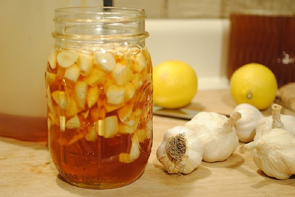 ăn tỏi với mật ong