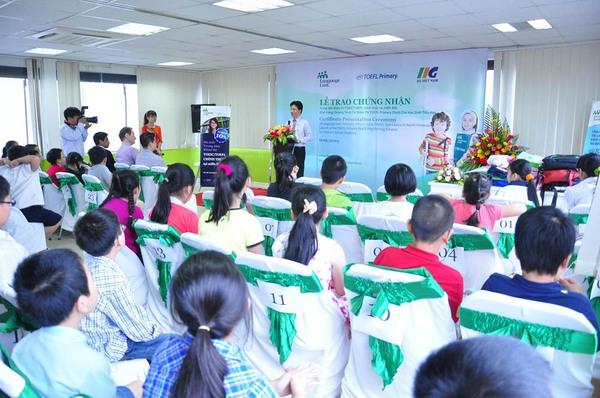 15 đội tuyển Việt Nam thi TOEFL Primary cùng thế giới 2