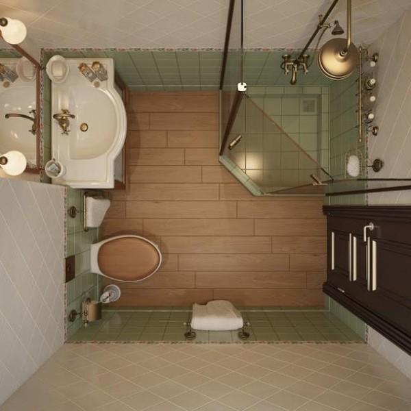 phòng tắm nhỏ 12