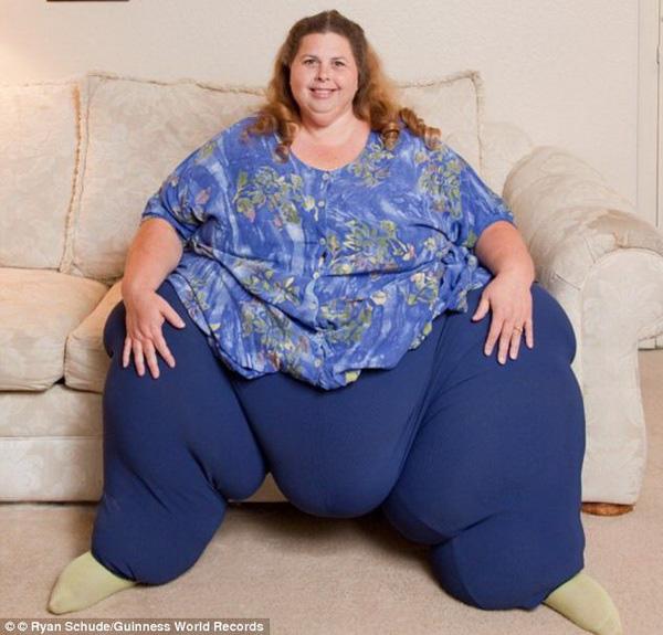 Những phụ nữ béo nhất thế giới 4