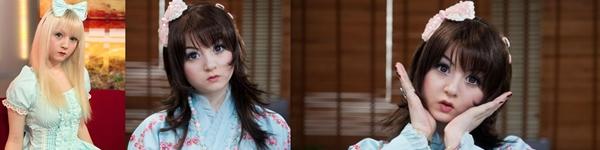 Nhật Bản: Búp bê 3D có gương mặt giống hệt người thật  10