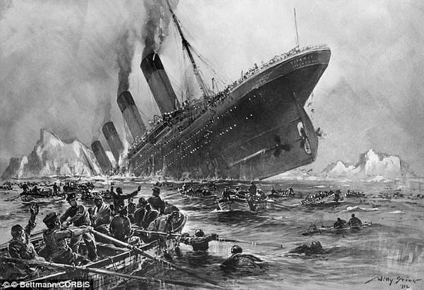 2 chuyện tình ít người biết trên tàu Titanic 2