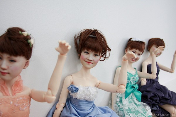 Nhật Bản: Búp bê 3D có gương mặt giống hệt người thật  2