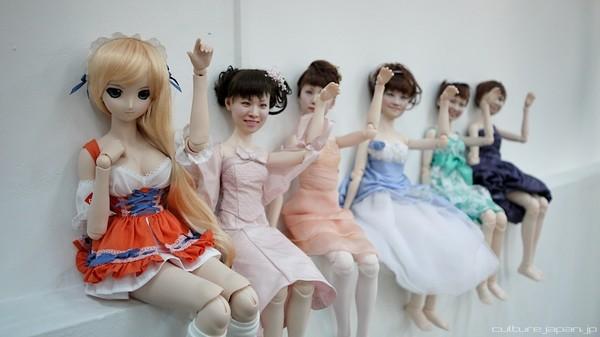 Nhật Bản: Búp bê 3D có gương mặt giống hệt người thật  8