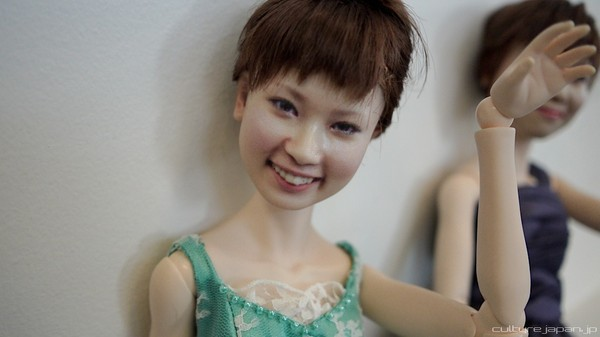 Nhật Bản: Búp bê 3D có gương mặt giống hệt người thật  1