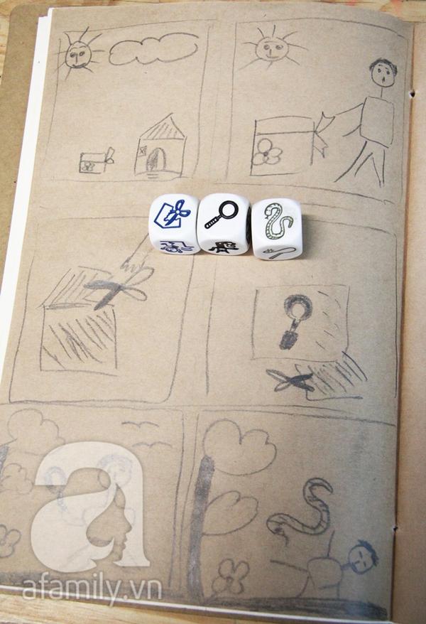 Ai cũng có thể vẽ và có một câu chuyện để kể ở lớp học Toa Tàu 7