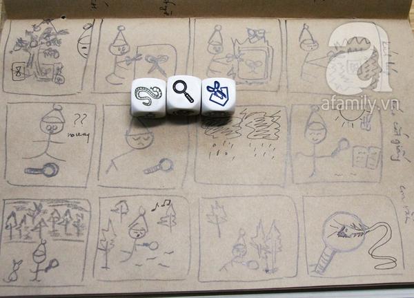 Ai cũng có thể vẽ và có một câu chuyện để kể ở lớp học Toa Tàu 8