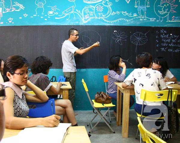 Ai cũng có thể vẽ và có một câu chuyện để kể ở lớp học Toa Tàu 2