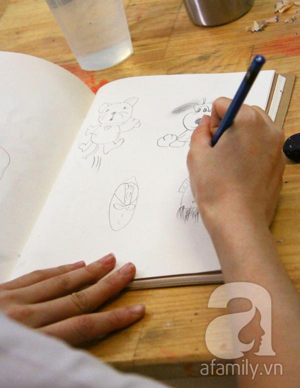 Ai cũng có thể vẽ và có một câu chuyện để kể ở lớp học Toa Tàu 3