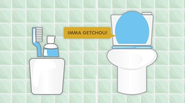 4 sai lầm trong việc bảo quản bàn chải đánh răng 1