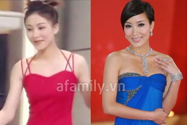 Mũi của Dương Di - Ảnh Hậu TVB 2012 ngày càng... đáng sợ 7