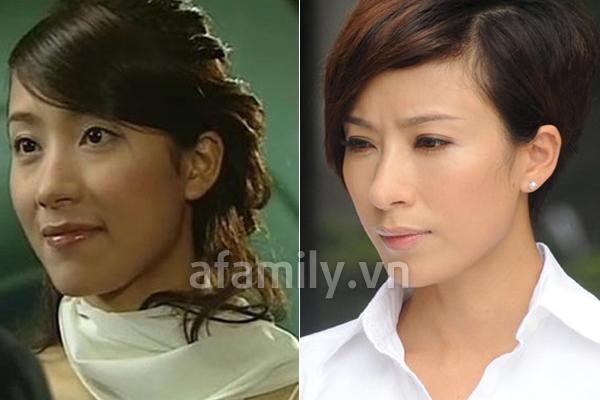 Mũi của Dương Di - Ảnh Hậu TVB 2012 ngày càng... đáng sợ 12