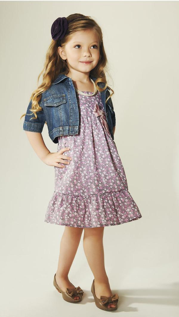 Mẫu nhí 5 tuổi tự thiết kế BST thời trang 7