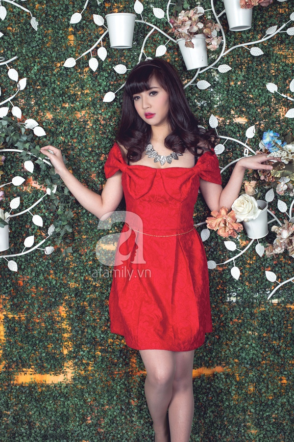 Chọn váy mùa xuân cùng ca sĩ Bích Phương 14