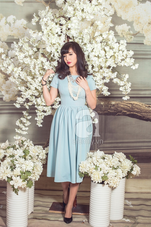 Chọn váy mùa xuân cùng ca sĩ Bích Phương 9