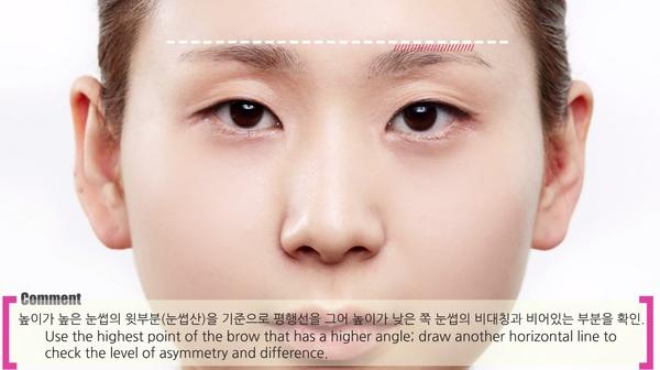 Cách căn chỉnh để có được cặp lông mày ngang như ý 5