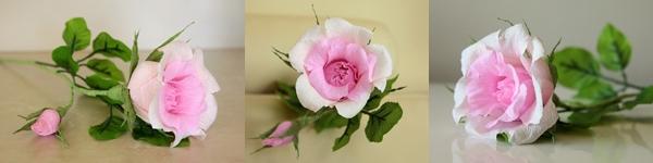 Rực rỡ giỏ hoa hồng giấy làm đẹp nhà mình 10