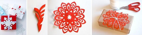 Trang trí Noel với hoa tuyết kirigami tuyệt đẹp 8