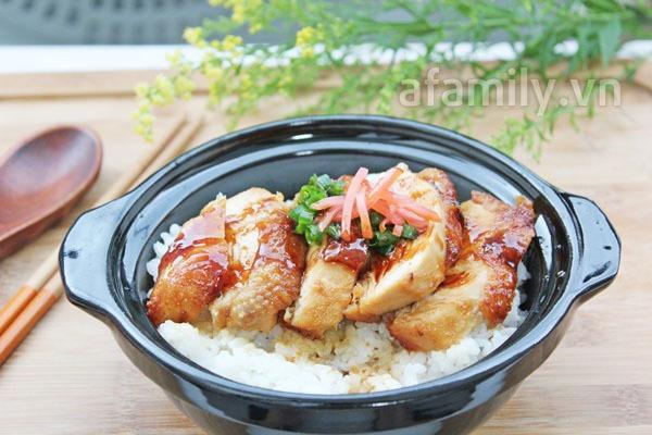 Bữa trưa văn phòng ngon với cơm gà kiểu Nhật 11