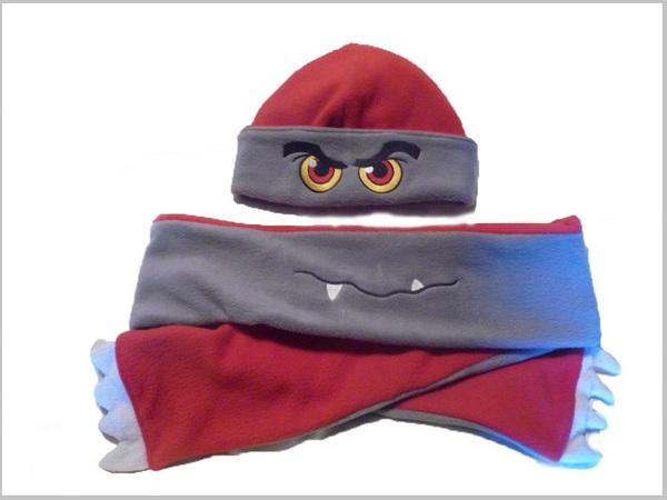 Ngộ nghĩnh bộ khăn mũ vải dạ cho mùa đông ấm áp 10