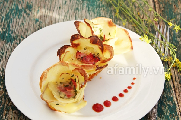 Món ăn vặt mới cực ngon từ khoai tây 1
