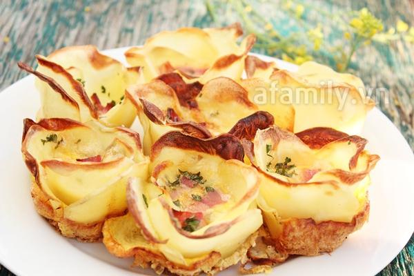 Món ăn vặt mới cực ngon từ khoai tây 9