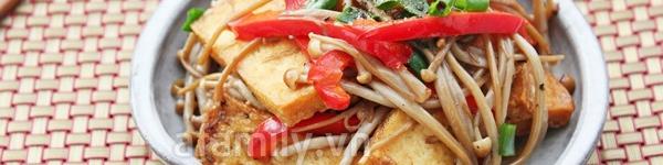Mapo tofu - món đậu phụ xào thịt cực ngon 12