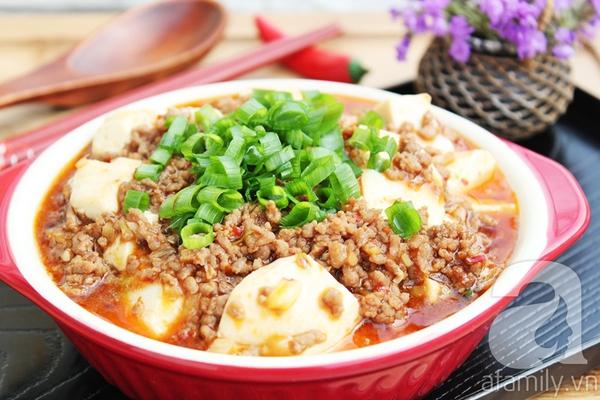 Mapo tofu - món đậu phụ xào thịt cực ngon 1