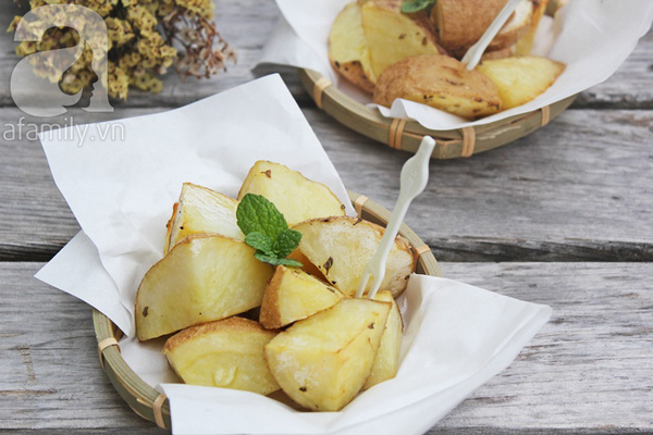 Khoai tây nướng thơm ngon 1