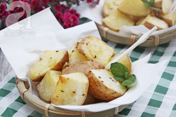 Khoai tây nướng thơm ngon 7