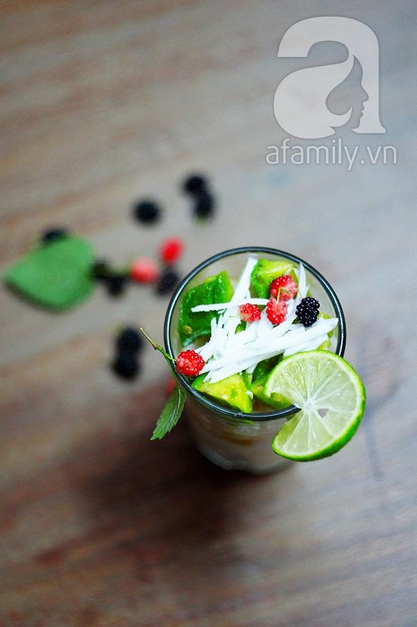 Bí quyết làm hoa quả dầm ngon như ngoài hàng! 9