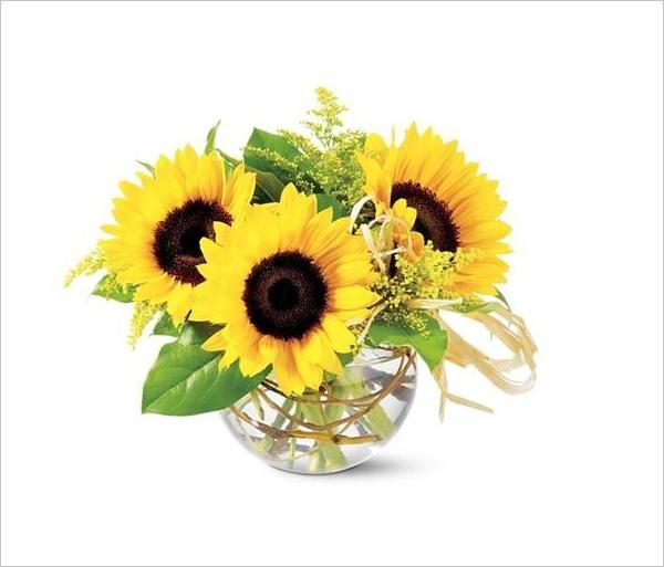 Chào hè với 6 cách cắm hoa hướng dương tươi đẹp 1