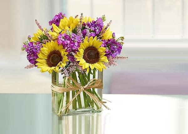 Chào hè với 6 cách cắm hoa hướng dương tươi đẹp 3