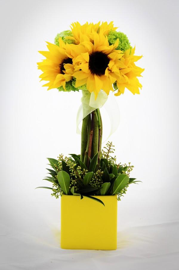Chào hè với 6 cách cắm hoa hướng dương tươi đẹp 5