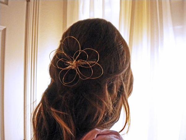 Làm hoa cài tóc xinh yêu đón hè thật điệu 8
