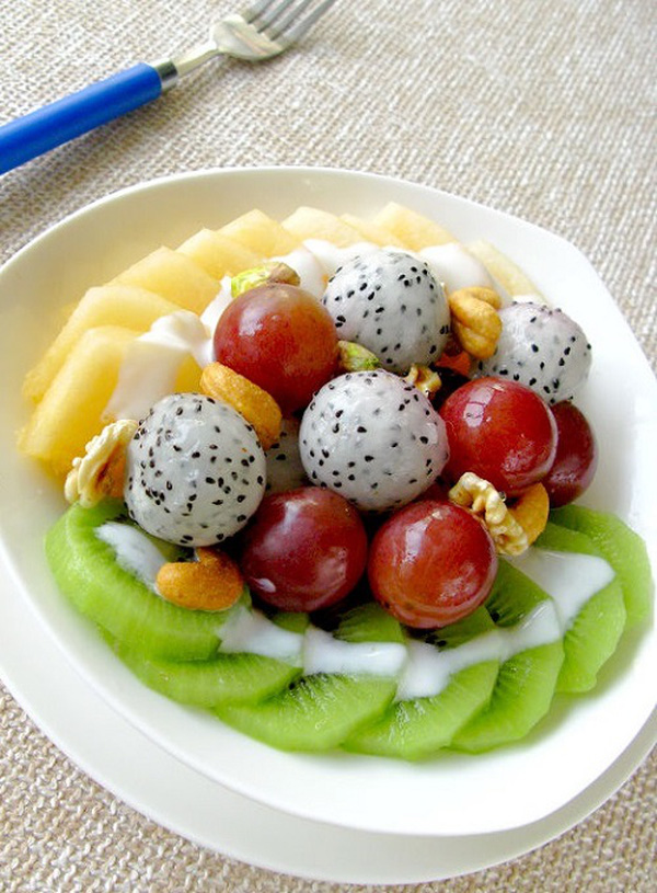 3 kiểu hoa quả trộn sữa chua ngon cho ngày hè 9
