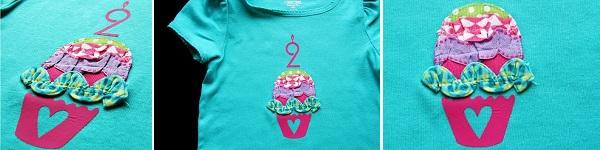 Dùng vải vụn trang trí áo cho bé thật dễ dàng 8