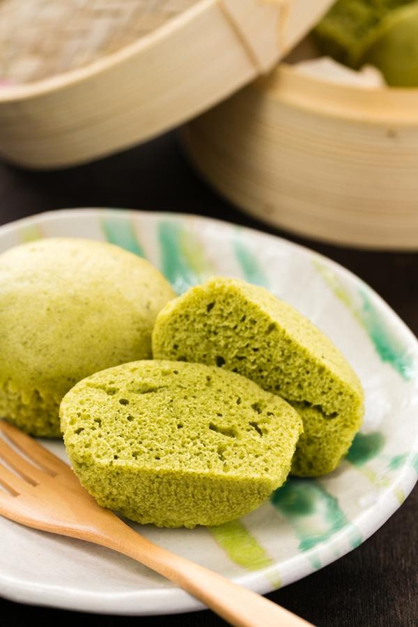 Không cần lò nướng, làm bánh cupcake trà xanh cực ngon 15