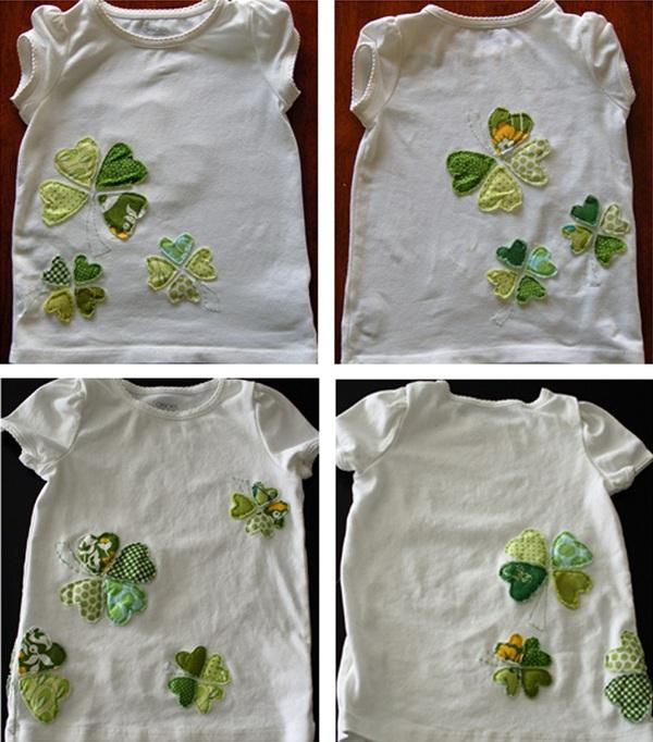 Dùng vải vụn trang trí áo cho bé thật dễ dàng 6