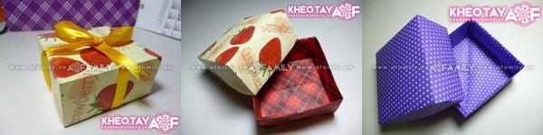 Gấp hộp quà xinh xắn theo phong cách Origami 14