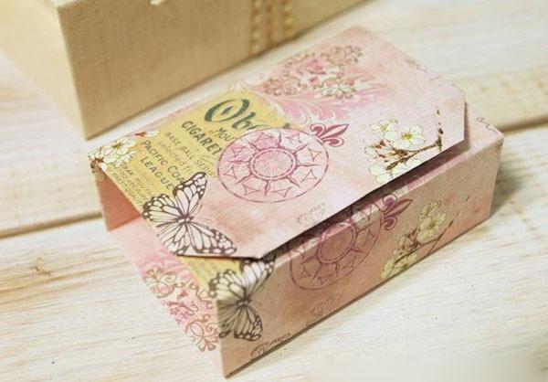 Gấp hộp quà xinh xắn theo phong cách Origami 1