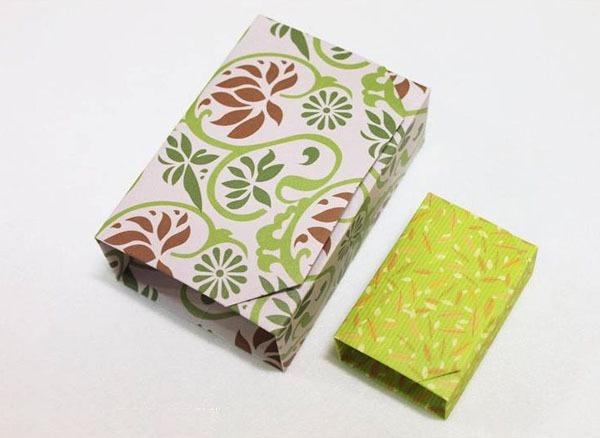 Gấp hộp quà xinh xắn theo phong cách Origami 11