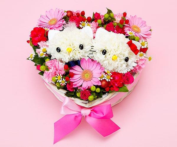 Cắm hoa hình mèo Kitty dễ thương! 9