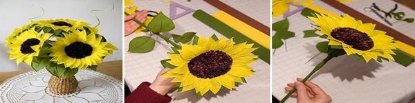 Làm hoa mộc lan giấy đẹp như hoa thật 9
