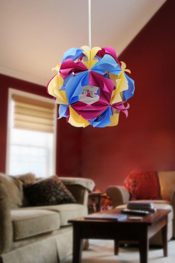 Trang trí nhà với lồng đèn Origami lung linh 6