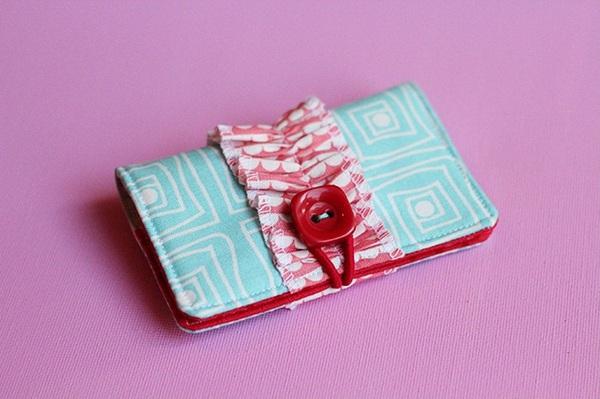 Tự may ví đựng thẻ nhỏ xinh tiện dụng 7