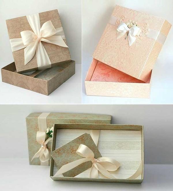 Cách gấp dán hộp đựng quà tiện dụng và đẹp mắt 8
