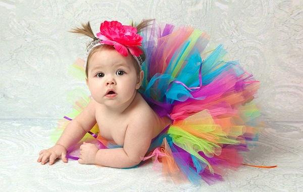 Cách may váy xòe đáng yêu cho bé gái 1