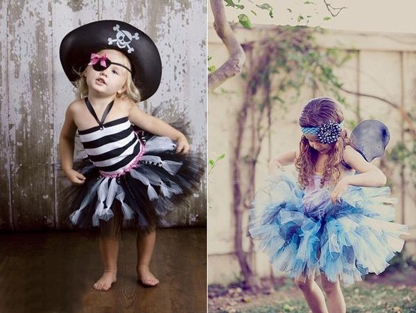 Cách may váy xòe đáng yêu cho bé gái 9