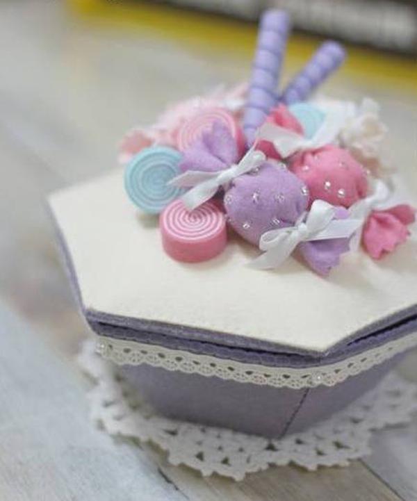 Làm hộp đựng quà ngọt ngào dễ thương 1